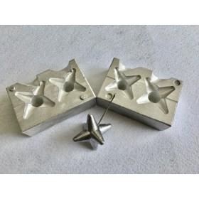Molde estrella 100-120 gr