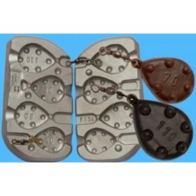 molde rosco 70-80-90-110 gr