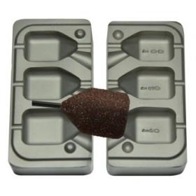 molde cubo pasante 100-120-140 gr