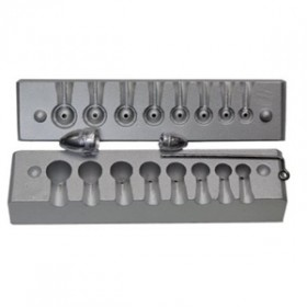 molde bala 2,5-5-10-13 gr